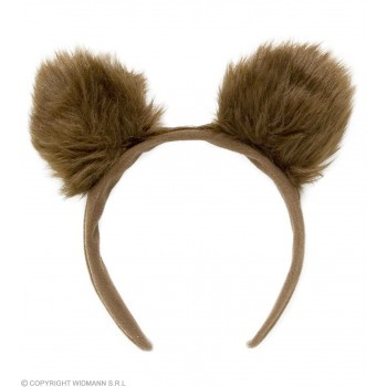 Plush Bear Ears - Fancy Dress (Animals)