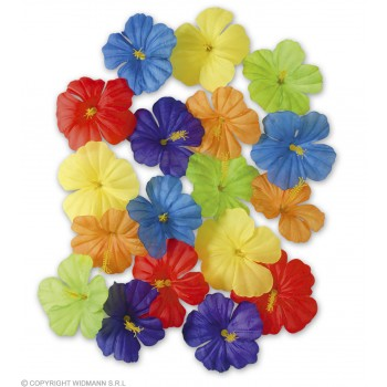 Hibiscus Flowers 18Pc - Fancy Dress