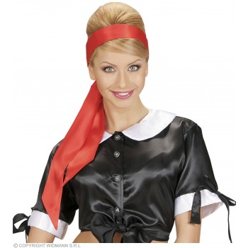 Satin Red Sash/Headwrap - Fancy Dress