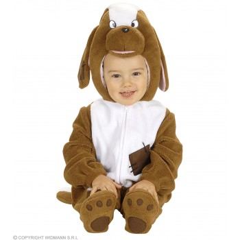 Dog Costume Child Jumpsuit W/Headpiece Costume Age 1-2 (Animals)