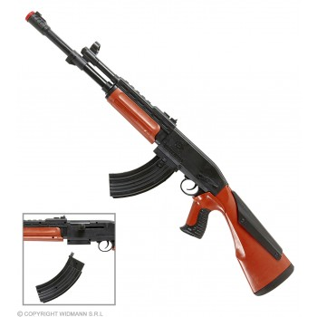 Kalashnikov 75Cm (Plastic Toy) - Fancy Dress