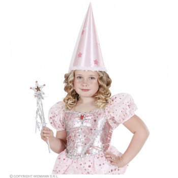 Fairy Hat Satin With Veil 2 Cols - Fancy Dress (Fairy Tales)