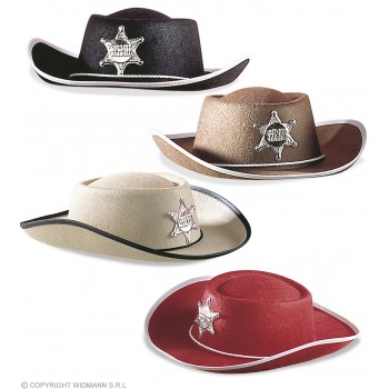 Child Cowboy Hat Felt - Fancy Dress (Cowboys/Native Americans)