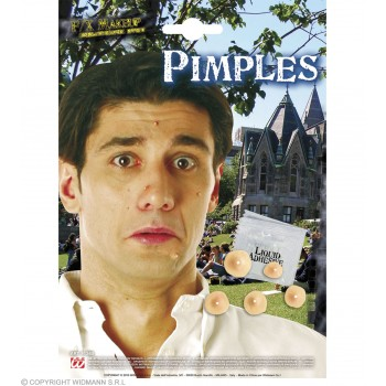 Pimples With Adhesive - Fancy Dress (Pimp)
