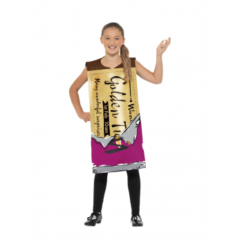 Roald Dahl Winning Wonka Bar Fancy Dress Costume Book Day (Official Licensed)