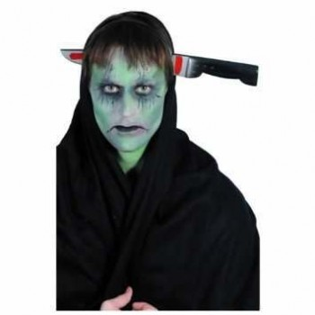 Knife Through Head Headband - Fancy Dress (Halloween)