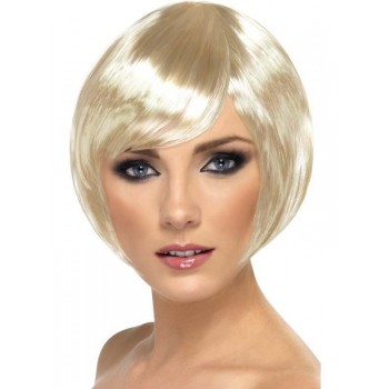 Babe Wig Blonde - Fancy Dress Ladies
