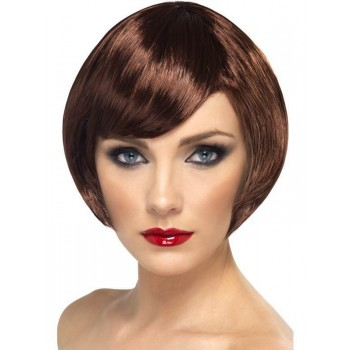 Babe Wig Brown - Fancy Dress Ladies