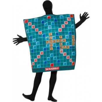 Scrabble Board Fancy Dress Costume