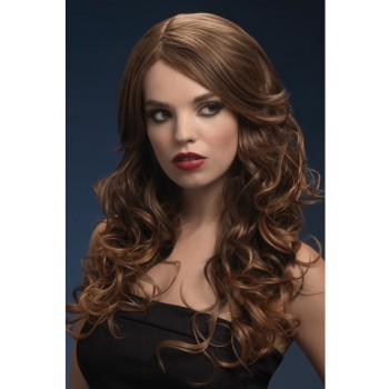 Fever Nicole Fancy Dress Wig - Red Cherry