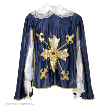Xl Musketeer Coats With Cape Fancy Dress Mens (Musketeers)