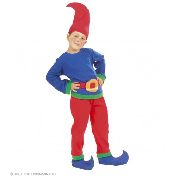 Gnome Fancy Dress Boys 3-5 Yrs