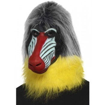 Baboon Fancy Dress Mask