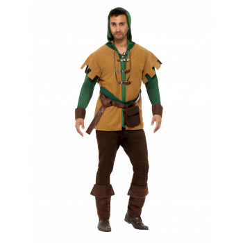 Robin Of The Hood Fancy Dress Costume Legends/Myths