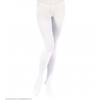 Xl Pantyhose White - Fancy Dress (Christmas)