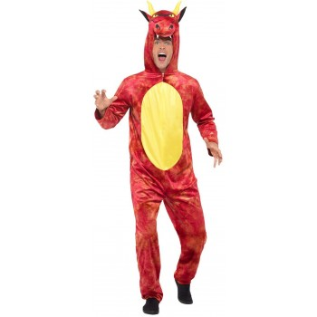 Deluxe Dragon Fancy Dress Costume Animals