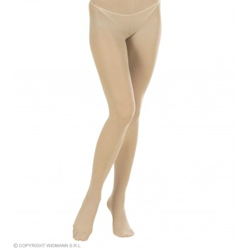 Xl Pantyhose Beige - Fancy Dress