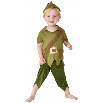 Toddler Robin Hood Fancy Dress Costume Book Day