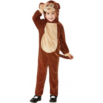 Toddler Monkey Fancy Dress Costume Animals