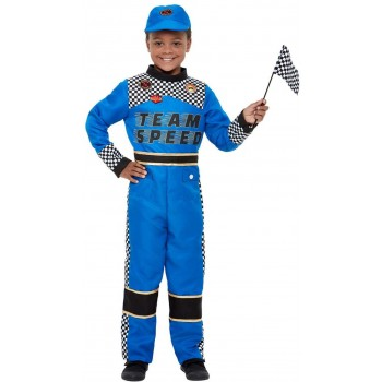 Racing Car Driver Fancy Dress Costume Heroes