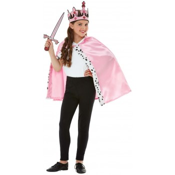 Queen Dress-Up Kit Fairy Tales Fancy Dress