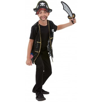 Pirate Dress-Up Kit Fancy Dress