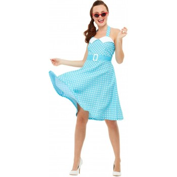 50s Pin Up Fancy Dress Costume 1950s