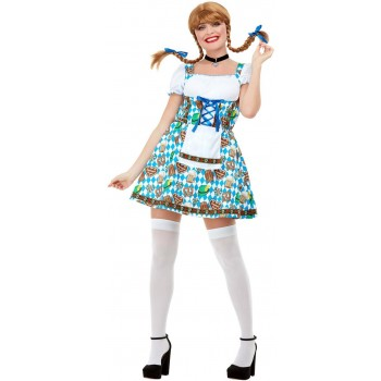 Oktoberfest Beer Maiden Fancy Dress Costume Cultures