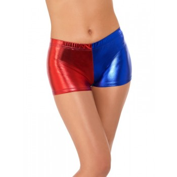 Fever Miss Harlequin Whiplash Shorts Fancy Dress Accessory