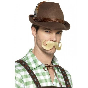 Deluxe Bavarian Trenker Fancy Dress Hat