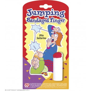 Joke Jumping Bandaged Finger - Fancy Dress