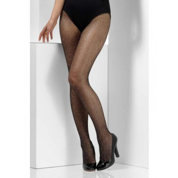 Glitter Fishnet Fancy Dress Accessory Tights