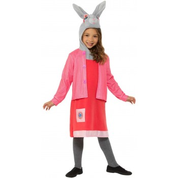 Peter Rabbit, Lily Bobtail Deluxe Fancy Dress Costume Book Day