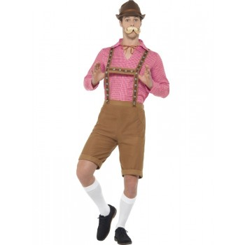 Mr Bavarian Fancy Dress Costume