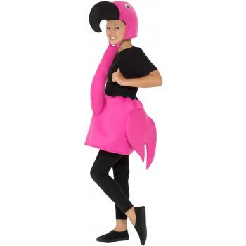 Kids Flamingo Fancy Dress Costume Animals
