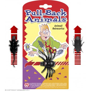 Pull Back Animal - Fancy Dress (Animals)