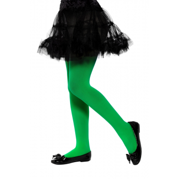 Opaque Green Tights Halloween Fancy Dress