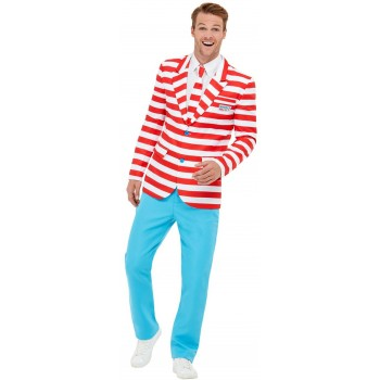 Where's Wally? Suit WALLY Book Day Fancy Dress (Official Licensed)