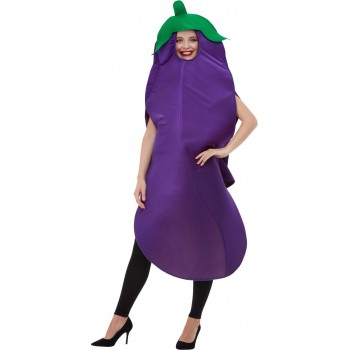 Aubergine Fancy Dress Costume Food
