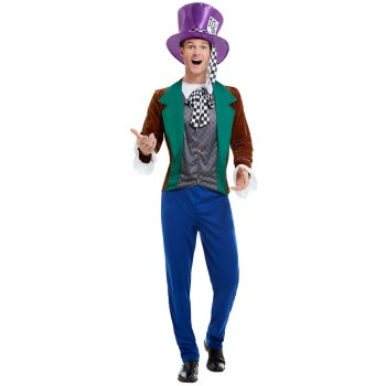 Mad Hatter Fancy Dress Costume Fairy Tales