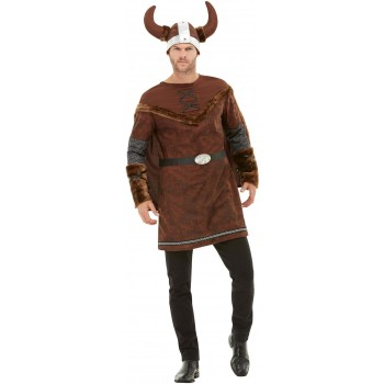 Viking Barbarian Fancy Dress Costume Book Day