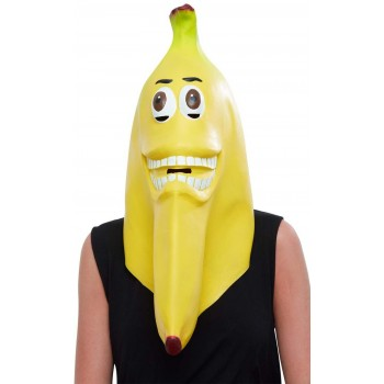 Banana Latex Mask Food Fancy Dress