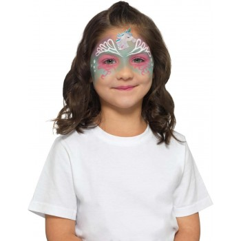 Smiffys Make-Up FX, Kids Unicorn Kit, Aqua Halloween