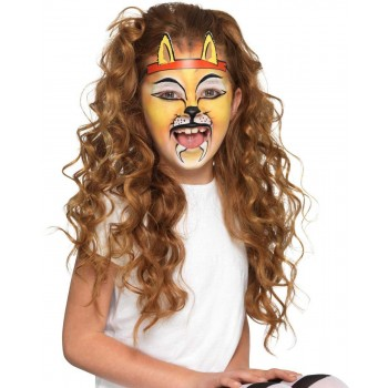 Smiffys Make-Up FX, Kids Animal Kit, Aqua Halloween