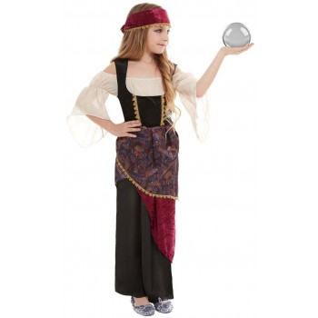 Deluxe Fortune Teller Fancy Dress Costume Halloween