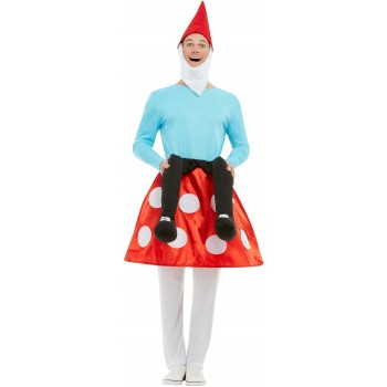 Gnome Toadstool Fancy Dress Costume Christmas