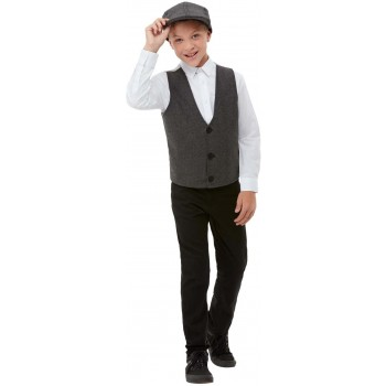 20s Gangster Boy Dress-Up Kit 1920s Fancy Dress