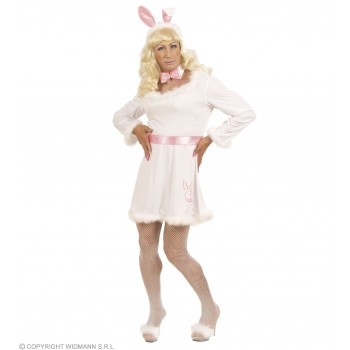Xl Bunny Male Dress Fancy Dress Costume Mens Size 46-48 (Drag)