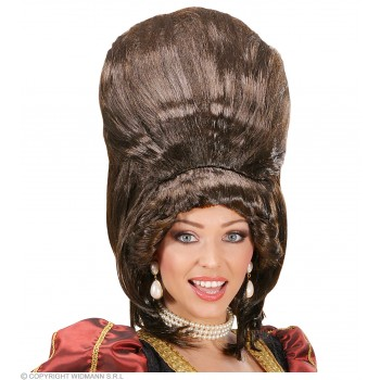 Brown Supertall Wigs - In Polybag - Fancy Dress