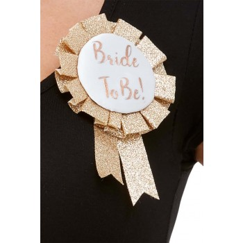 Bride To Be Rosette Hen & Stag